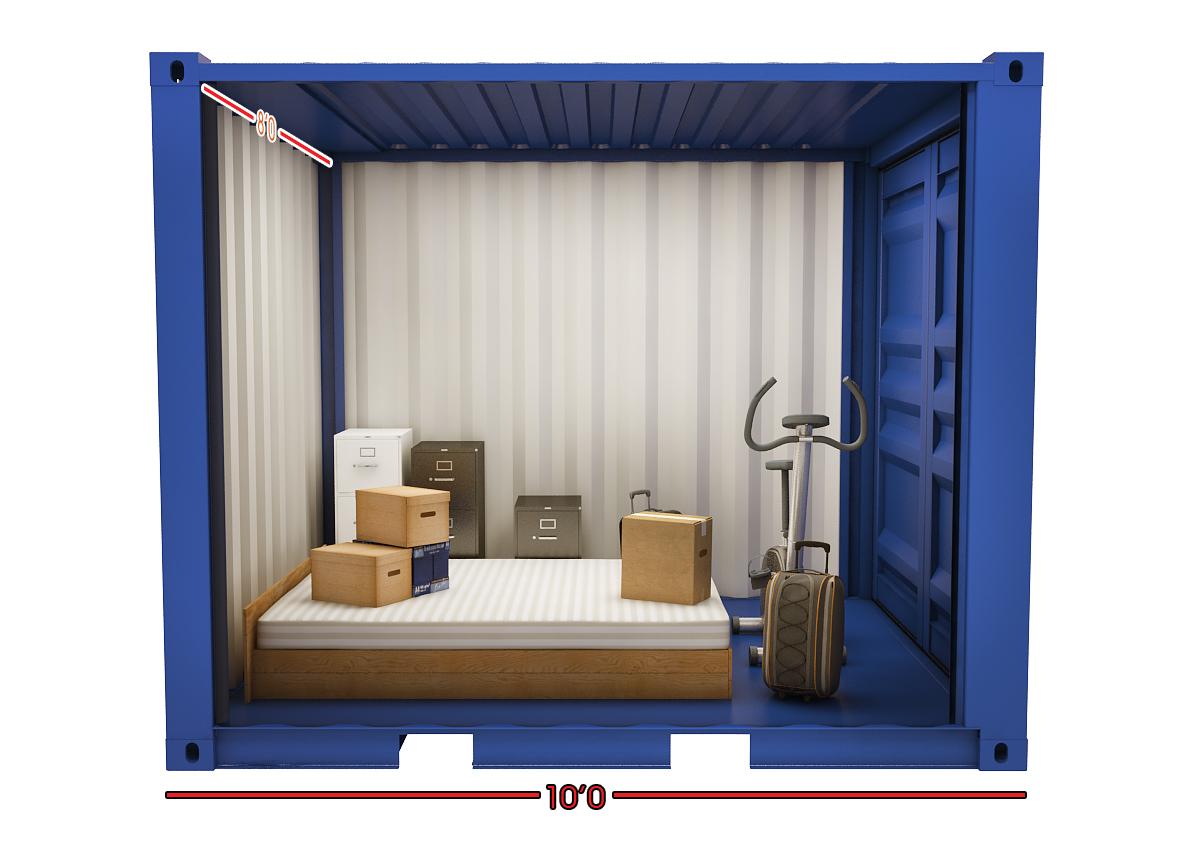 Storebox Storage Unit Medium